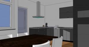 06 110811 B37H 3D keuken