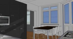 07 110811 B37H 3D keuken
